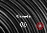 Image of ice hockey championship Canada, 1957, second 4 stock footage video 65675056226