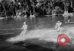 Image of water ski show Florida United States USA, 1957, second 8 stock footage video 65675056228