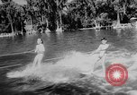 Image of water ski show Florida United States USA, 1957, second 9 stock footage video 65675056228
