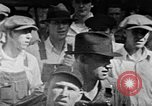 Image of Town meeting in 1930s rural southern United States United States USA, 1935, second 8 stock footage video 65675056242