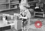 Image of children at nursery school United States USA, 1935, second 4 stock footage video 65675056245