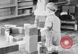 Image of children at nursery school United States USA, 1935, second 5 stock footage video 65675056245