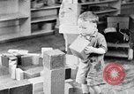 Image of children at nursery school United States USA, 1935, second 7 stock footage video 65675056245