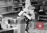 Image of children at nursery school United States USA, 1935, second 8 stock footage video 65675056245