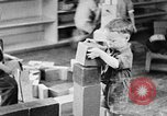Image of children at nursery school United States USA, 1935, second 9 stock footage video 65675056245