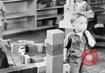 Image of children at nursery school United States USA, 1935, second 12 stock footage video 65675056245