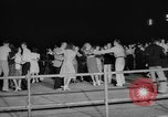 Image of large crowd of jitterbugs Chicago Illinois USA, 1938, second 10 stock footage video 65675056260