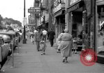 Image of Streets and shops of town Ottumwa Iowa USA, 1958, second 1 stock footage video 65675056276
