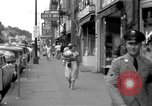 Image of Streets and shops of town Ottumwa Iowa USA, 1958, second 12 stock footage video 65675056276