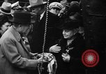Image of christening of destroyers Kearny New Jersey USA, 1940, second 10 stock footage video 65675056279