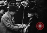 Image of christening of destroyers Kearny New Jersey USA, 1940, second 12 stock footage video 65675056279