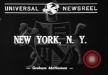 Image of nine mascot pups New York United States USA, 1940, second 2 stock footage video 65675056285