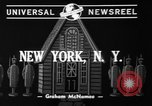 Image of police and firemen mend toys New York United States USA, 1940, second 4 stock footage video 65675056288