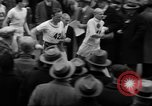 Image of Turkey Day annual ten mile walking race New York City USA, 1940, second 5 stock footage video 65675056290