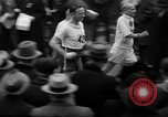 Image of Turkey Day annual ten mile walking race New York City USA, 1940, second 6 stock footage video 65675056290