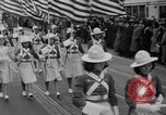 Image of parade of draftees Philadelphia Pennsylvania USA, 1940, second 11 stock footage video 65675056292