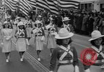 Image of parade of draftees Philadelphia Pennsylvania USA, 1940, second 12 stock footage video 65675056292
