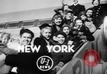 Image of World War II orphan children adopted by Hollywood stars New York United States USA, 1947, second 2 stock footage video 65675056294