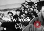 Image of World War II orphan children adopted by Hollywood stars New York United States USA, 1947, second 3 stock footage video 65675056294