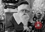 Image of Babe Ruth as Santa New York United States USA, 1947, second 8 stock footage video 65675056296