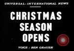 Image of Christmas processions Hollywood Los Angeles California USA, 1947, second 2 stock footage video 65675056297