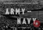 Image of Army versus Navy Football Philadelphia Pennsylvania USA, 1947, second 2 stock footage video 65675056298
