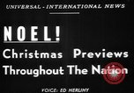 Image of Christmas procession United States USA, 1949, second 12 stock footage video 65675056299