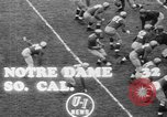 Image of USC versus Notre Dame football South Bend Indiana USA, 1949, second 6 stock footage video 65675056303