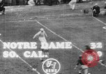 Image of USC versus Notre Dame football South Bend Indiana USA, 1949, second 9 stock footage video 65675056303