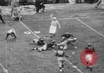 Image of USC versus Notre Dame football South Bend Indiana USA, 1949, second 12 stock footage video 65675056303