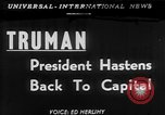 Image of President Harry Truman Washington DC USA, 1951, second 1 stock footage video 65675056306