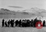 Image of Ski-Bob competition Bavarian Zugspitze Germany, 1951, second 9 stock footage video 65675056307