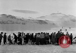 Image of Ski-Bob competition Bavarian Zugspitze Germany, 1951, second 11 stock footage video 65675056307