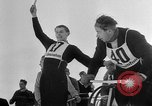 Image of Ski-Bob competition Bavarian Zugspitze Germany, 1951, second 12 stock footage video 65675056307