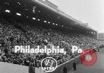 Image of West Catholic versus Bok Vocation Tech football Philadelphia Pennsylvania USA, 1951, second 4 stock footage video 65675056308