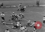 Image of West Catholic versus Bok Vocation Tech football Philadelphia Pennsylvania USA, 1951, second 10 stock footage video 65675056308