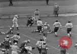 Image of West Catholic versus Bok Vocation Tech football Philadelphia Pennsylvania USA, 1951, second 12 stock footage video 65675056308