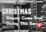 Image of children dreaming of Christmas toys in a shop window United States USA, 1951, second 6 stock footage video 65675056310