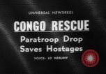 Image of Congo crisis Stanleyville Congo, 1964, second 1 stock footage video 65675056311