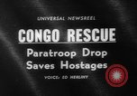 Image of Congo crisis Stanleyville Congo, 1964, second 2 stock footage video 65675056311