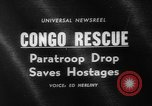 Image of Congo crisis Stanleyville Congo, 1964, second 3 stock footage video 65675056311