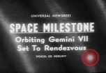 Image of launching of spaceship Gemini VII Florida United States USA, 1965, second 4 stock footage video 65675056317