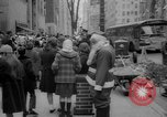 Image of Christmas shopping New York City USA, 1965, second 6 stock footage video 65675056319