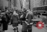 Image of Christmas shopping New York City USA, 1965, second 7 stock footage video 65675056319