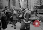 Image of Christmas shopping New York City USA, 1965, second 8 stock footage video 65675056319