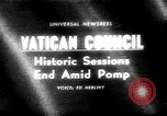 Image of historic Ecumenical Council Vatican City Rome Italy, 1965, second 1 stock footage video 65675056320