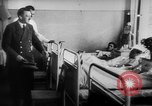 Image of Hitler visits bomb plot victims in hospital East Prussia, 1944, second 7 stock footage video 65675056336