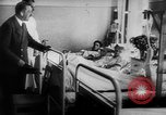 Image of Hitler visits bomb plot victims in hospital East Prussia, 1944, second 9 stock footage video 65675056336