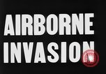 Image of Airborne invasion maneuvers United Kingdom, 1944, second 6 stock footage video 65675056363