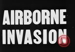 Image of Airborne invasion maneuvers United Kingdom, 1944, second 7 stock footage video 65675056363